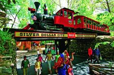 A trip Branson, Missouri wouldn't be complete without a visit to Silver Dollar City in the Ozark Mountain. It is a charming theme park set in the and known for its clean, wholesome atmosphere, many festivals (especially Christmas), and the rides and Branson Shows, Branson Vacation, Silver Dollar City, Branson Missouri, Missouri Mo, To Infinity And Beyond, Vacation Destinations, Vacation Ideas, Mini Vacation