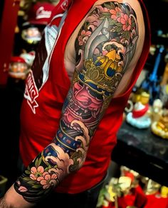 4 beautiful sleeves by Like always, swipe to see every photo! Japanese Forearm Tattoo, Tattoo Japanese Style, Japanese Tattoos For Men, Japanese Tattoo Designs, Japanese Sleeve Tattoos, Koi Tattoo Sleeve, Tattoo Sleeve Designs, Westside Tattoo, Buddha Tattoo Design