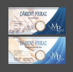 Graphic design of a business voucher. #graphicdesign #design #brochure #flyer #business #voucher