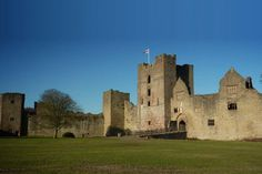 Lid low Castle in SW England, tea room, area has good biking and walking trails and sites