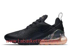 super popular b3f20 49b15 Nike Air Max 270 Black Camo Sunset AQ6239-001 Chaussures Officiel Basket  Pas Cher Pour