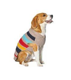 Chilly Dog Blanket Ragg Wool Shawl Dog Sweater Large