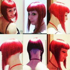 "195 Likes, 1 Comments - @boblovers on Instagram: ""Haircut by @heymissmandy #bobhaircut #undercut #carrè #sidecutstyle #bobhairstyle #rasatura…"""