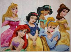 Disney Princess Cross Stitch ♥
