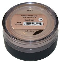 bareMinerals SPF 15 Matte Foundation (1.5g) - Medium >>> Want to know more, click on the image. #MakeupFoundation