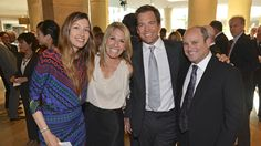 Michael Weatherly and his wife Bojana - Jewish Family Service Tribute Dinner