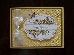 Apothecary Art stamp set and Framelit using So Saffron by Janet Hill