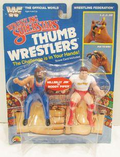 Wrestling Superstars, Wrestling Wwe, Retro Toys, Vintage Toys, Childhood Toys, Childhood Memories, Wwf Toys, Roddy Piper, Old School Toys