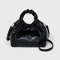 2db3c5c319d Complete your laid-back looks with the Large Scrunch Hobo Handbag from Omg!  Accessories