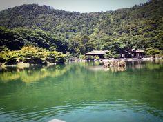@Ritsrin garden in Takamatsu Japan
