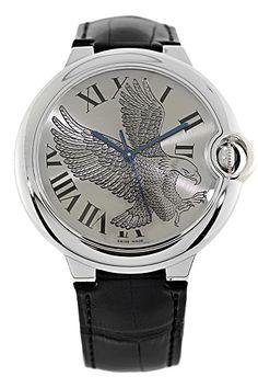 CPO #Cartier 18K White Gold Ballon Bleu Limited Edition Automatic #eagle