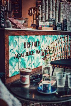beach restaurant Dreamer-Acai-Juice-Matcha-Miami-B - South Beach Florida, Miami Florida, Florida Beaches, Palm Beach, Miami Restaurants, Matcha Bars, Rooftop Bar Bangkok, Beach Cafe, Surf Cafe