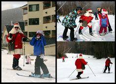 Santa Skis #loonevents