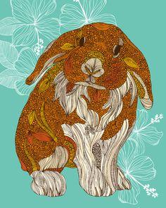 ... au pays des lapins   Graphiste : Valentina Harper
