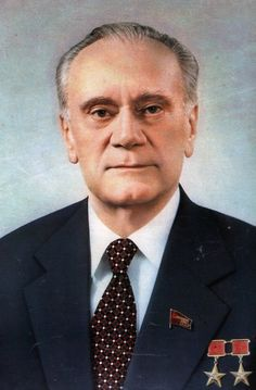 Nikolai Tikhonov, Chairman of the Council of Ministers from 1980 to 1985, and as a First Deputy Chairman of the Council of Ministers, literally First Vice Premier, from 1976 to 1980. Tikhonov was responsible for the cultural and economic administration of the Soviet Union during the late era of stagnation. He was replaced as Chairman of the Council of Ministers in 1985 by Nikolai Ryzhkov. In the same year, he lost his seat in the Politburo.