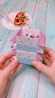 Diy Crafts Hacks, Diy Crafts For Gifts, Diy Arts And Crafts, Diy Crafts Videos, Creative Crafts, Decor Crafts, Diy Videos, Paper Crafts Origami, Paper Crafts For Kids