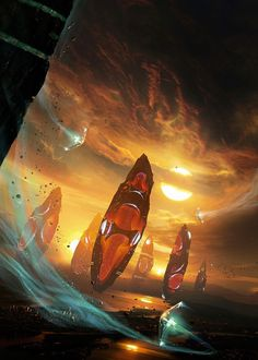 Sci-fi Art: The Awakening