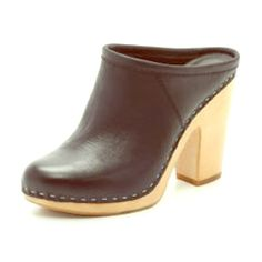 Dolce Vita Leather Clogs 100% Leather Clogs with wooden heel!  Dolce Vita Shoes Mules & Clogs