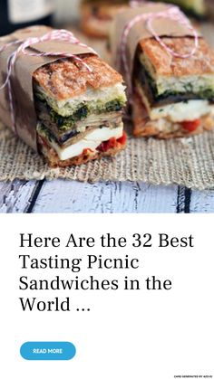 Here Are the 32 Best #Tasting Picnic #Sandwiches in the #World ... - #Food