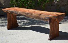 Woodwaves Modern Furniture - Google+ Farmhouse bench, rustic bench, primitive bench