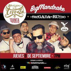 """El SKA llega a """"Música en la Terraza"""" con BIGMANDRAKE http://crestametalica.com/events/ska-llega-musica-la-terraza-bigmandrake/ vía @crestametalica"""