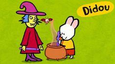 Special Halloween - Didou, dessine Moi une Sorcière   Dessins animés pou...
