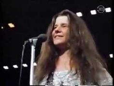 Janis Joplin ~ Live in Frankfurt, Germany (RARE Concert Footage)  THE BEST One I have seen.  Very clear eyed.  Way before she was messed up.  Enjoyed the fresh watch of her 'for real'.