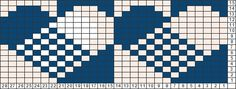 Tricksy Knitter Charts: Scandi Hearts 28 st repeat by Tinynedl
