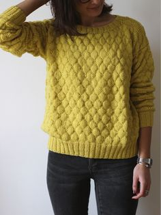 Cotton knit by Ludivineem Cardigan Sweaters For Women, Cardigans For Women, Women's Cardigans, Crochet Woman, Knit Crochet, Crochet Waffle Stitch, Knitted Coat, How To Purl Knit, Knitting Designs
