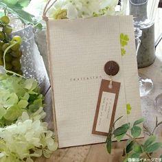 画像1: フレンチカントリー 結婚式招待状(印刷込み) (1)