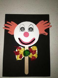 clown and circus crafts Clown Crafts, Circus Crafts, Puppet Crafts, Circus Art, Circus Theme, Preschool Circus, Fall Preschool, Preschool Crafts, Toddler Crafts
