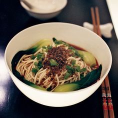These aromatic dan dan noodles in a spicy soy-based sauce are wildly popular at South Beauty. A small bowl of them will customarily arrive at the end ...