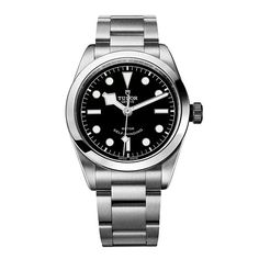 PRE-ORDER BASEL 2016 Tudor Gents Heritage Black Bay 36 Black & Steel Watch: £1,940.00
