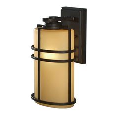 Zoomed: allen + roth Altabourne 12-1/4-in Bronze Outdoor Wall Mounted Light