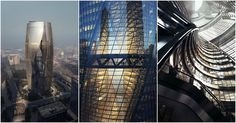Zaha Hadid Architects Releases Images of Tower with the World's Tallest Atrium