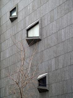 Whitney Museum of American Art, NYC, Marcel Breuer, 1966