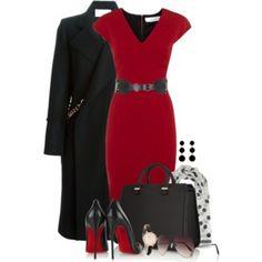 Victoria Beckham Dress, Coat & Bag