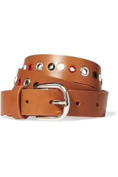 Tan leather (Cow) Buckle fastening Made in Italy