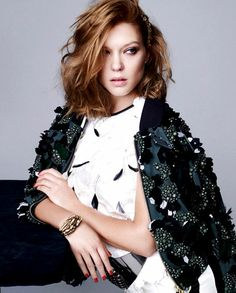 Lea Seydoux for Dazed & Confused Korea by Nagi Sakai