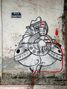 Street art | Mural by How and Nosm