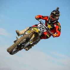 Ryan Sipes flying high at the Outdoor MX races!