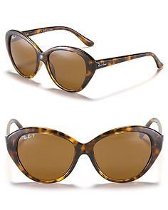 Ray-Ban Highsteet Gradient Cat Eye Sunglasses | Bloomingdale's
