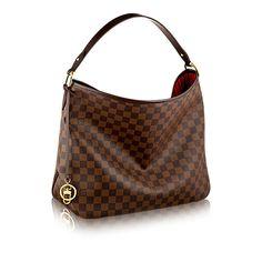 Delightful MM - Damier Ebene Canvas - Handbags | LOUIS VUITTON