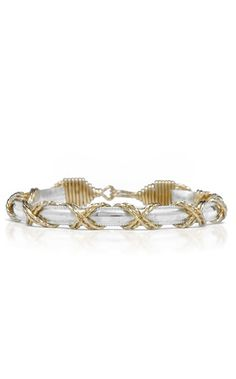 The Dome Bar with X Pattern Bracelet by Ronaldo... and want this one...