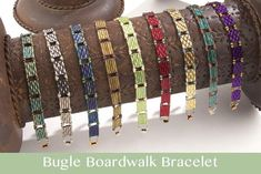 seed bead jewelry patterns for beginners Bracelets Diy, Seed Bead Bracelets, Silver Bracelets, Colorful Bracelets, Handmade Bracelets, Making Bracelets, Handmade Beads, Stretch Bracelets, Jewelry Making Tutorials