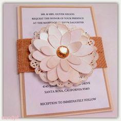 Elegant Fall Wedding Invitations 2014