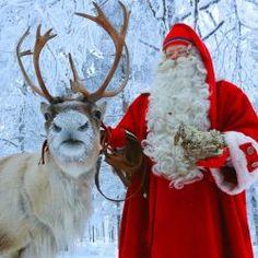 Santa Claus Village in Rovaniemi in Lapland Finland Arctic Circle