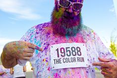 The Color Run – pigment throwing mixed with a run/walk makes for some great imagery.