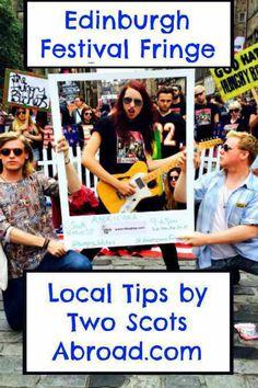 Edinburgh Fringe Festival Pinterest Small