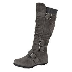 Womens Knee High Boots Ruched Calf Knit Collar Military Hiking Combat Gray 7 Bella M http://www.amazon.com/dp/B00NPJW2NQ/ref=cm_sw_r_pi_dp_b3Bvub15M41ZY